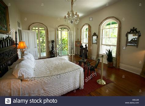 hemingway house key west hemingway house key west florida usa bedroom stock photo