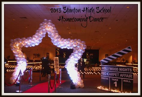 A night on the red carpet stanton homecoming dance