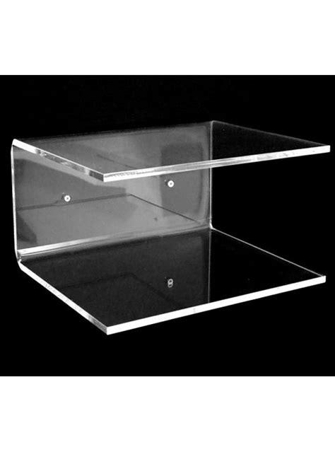 mensole plexiglass mensola in plexiglass metacrilato anche uso comodino o