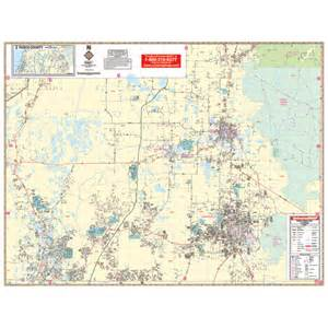 city roll maps pasco county fl east wall map