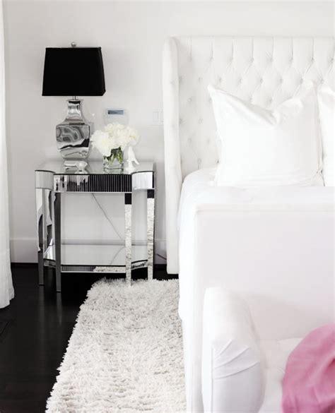 mirror nightstand contemporary bedroom benjamin moore decorators white pure  ami mckay