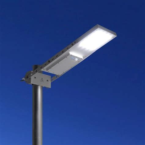 alpha 1080x outdoor motion sensor solar powered led pole