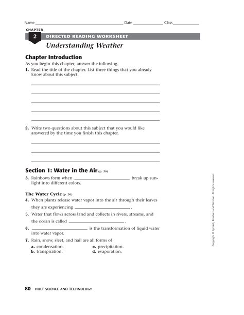 Science Worksheet Answers by Science Worksheet Category Page 3 Worksheeto