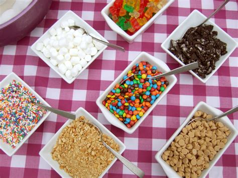toppings for ice cream bar parties archives rachel swartley