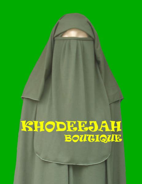 Cadar Niqab Bandana Lengkung Baby Doll purdah zoom