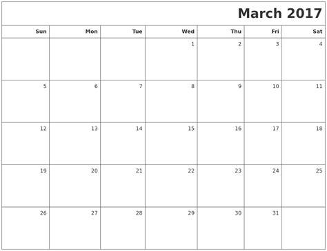 Calendar Printable Word 2017 2017 Calendar Word Calendar 2017 Printable
