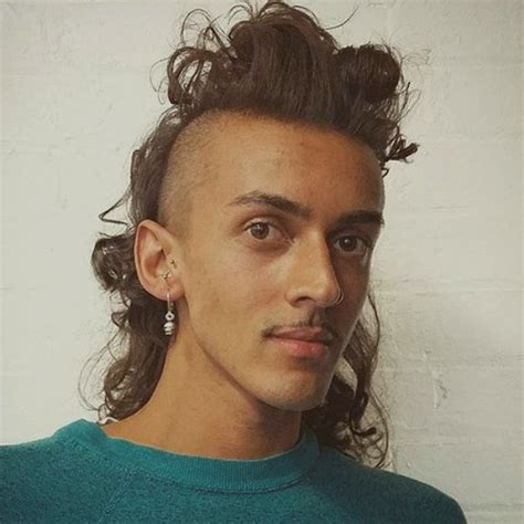 mullet hairstyles on pinterest side mullet hair style long hairstyles for men stylish