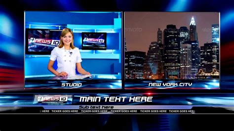 news template after effects after effects template hd news 10 pack on vimeo