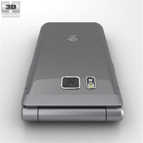 samsung w2016 gray 3d model hum3d