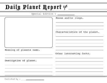 solar system report template solar system report template page 3 pics about space