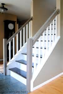 Carpet To Wood Stairs by Remodelaholic Carpet To Wood Stairs