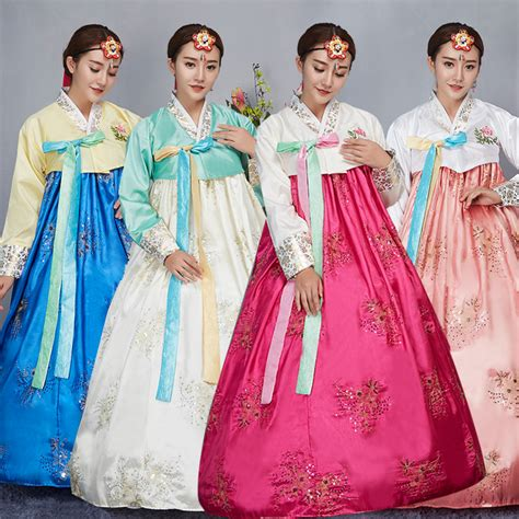 new year special clothes buy wholesale korean traditional dress from china
