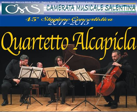 camerata musicale salentina 45 stagione concertistica della camerata musicale