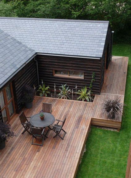 wrap around deck designs wooden decks decks and isle of wight on pinterest