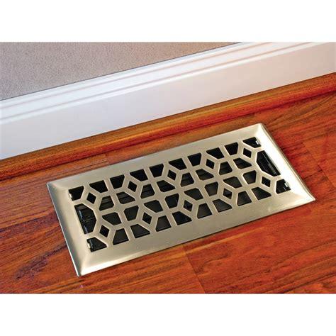 10 In X 30 In Floor Register - accord 10 x 30cm brushed nickel marquis floor register
