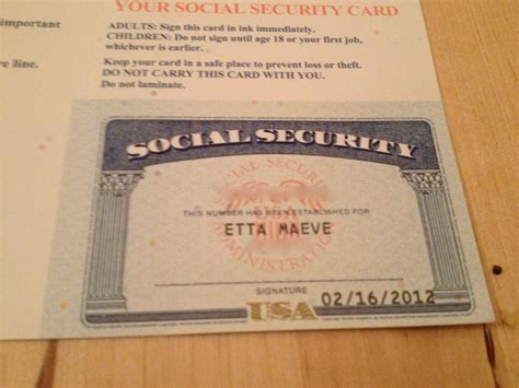 Social Security Search Fillable Social Security Card Template