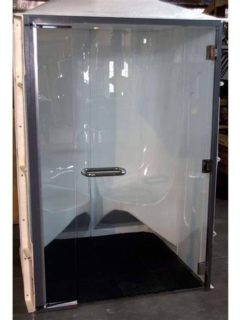 are steam rooms safe scandia hybrid steam room 12ec with tempered safety glass