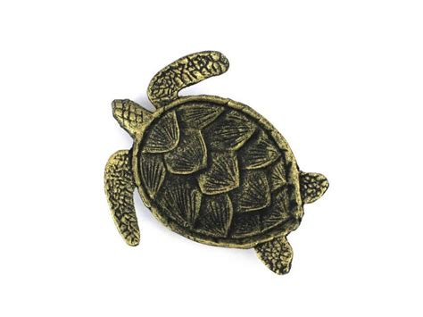 turtle home decor buy antique gold cast iron sea turtle decorative bowl 7 inch