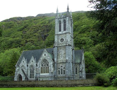Nice Churches In Nyc #4: Kylemore_Abbey_-_neo-Gothic_church_%282%29.jpg