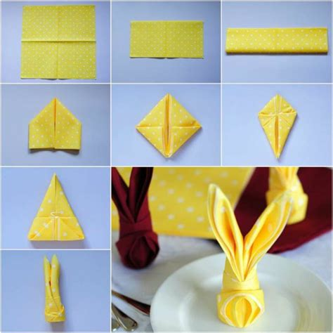 Paper Napkin Folding Styles - napkin folding create a unique festive table decorations
