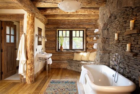log home decor ideas 45 rustic and log cabin bathroom decor ideas 2017 wall