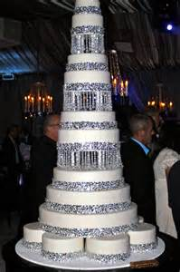 Crystal Ball Chandelier Embellishing Your Wedding Cake Bridal Blog