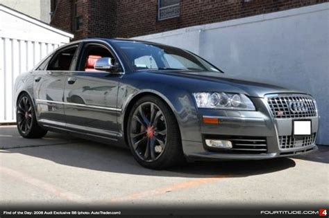 how things work cars 2008 audi s8 user handbook find of the day d3 audi s8 v10 with audi exclusive interior fourtitude com