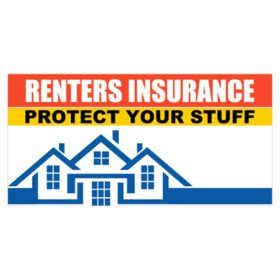 house renters insurance custom renters insurance banners printastic com