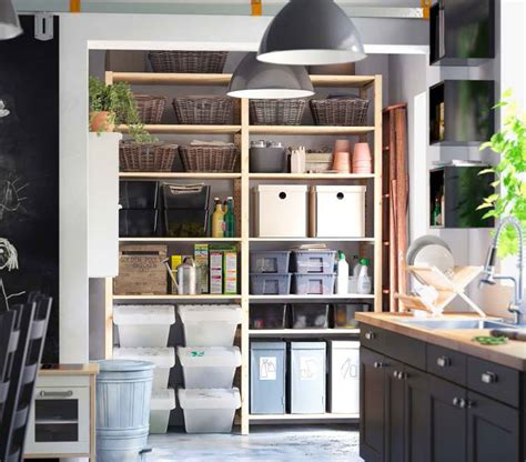 organized living room creative space organizing creative ikea kitchen storage organization ideas 2012