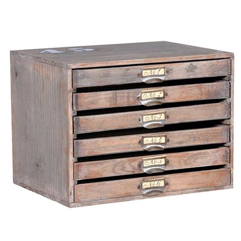 Mini wood envelope drawers ? Hydes Furniture & Interiors