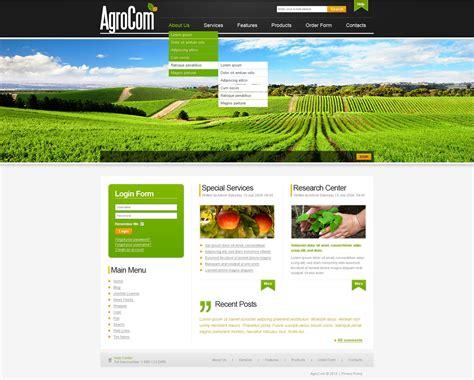 Joomla Design Vorlage joomla vorlage 30011 f 252 r landwirtschaft
