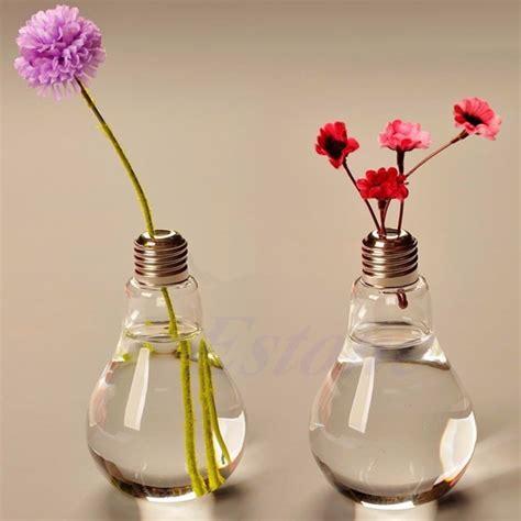 Flower Light Vase by E74 New Stand Bulb Glass Plant Flower Vase Hydroponic