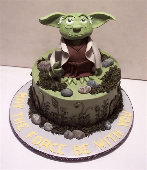 yoda cakes decoration ideas  birthday cakes