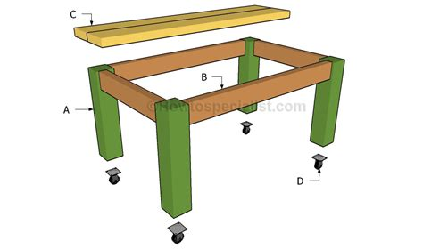 table plans howtospecialist how to build step by