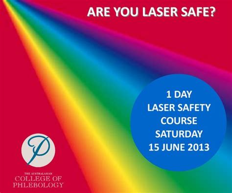 laser safety officer lso certificate course 15 june 2013