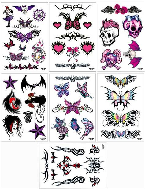 girl punk tattoo designs images designs