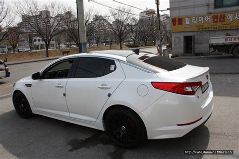 Black And White Kia Optima Kia Optima K5 White Hre P40 Black 3 Rides Styling