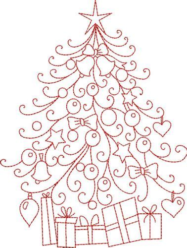 Free Handmade Embroidery Designs - free embroidery pattern tree i sew free
