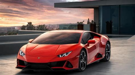 lamborghini huracan evo top speed