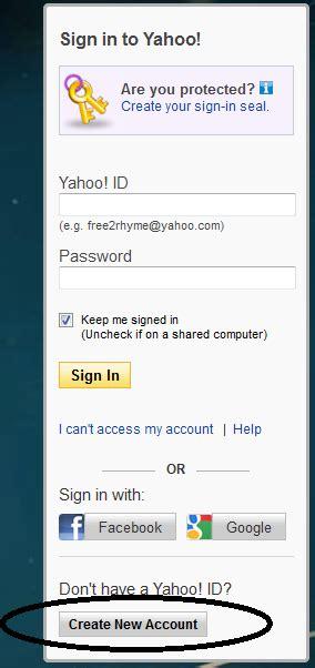 langkah untuk membuat email yahoo cara membuat email yahoo blog satriyopreketek