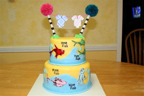 Dr Seuss Cakes Baby Shower by Dr Seuss Baby Shower Cake Cakecentral