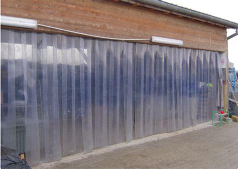 vorhang 4 meter lang pvc streifenvorhang lamellen torlamellen streifen vorhang