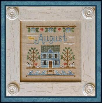 country cottage needleworks cottage of the month october cross stitch pattern 123stitch com quot cottage of the month august quot by country cottage needleworks