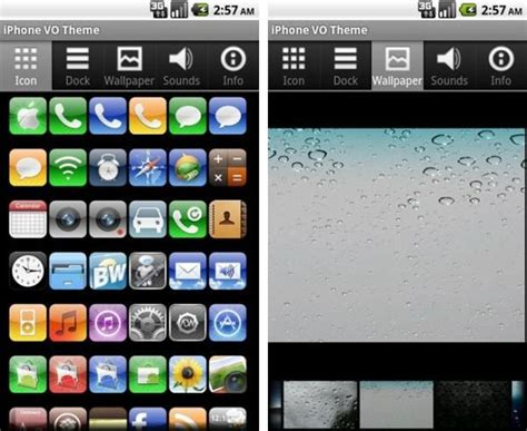 android themes on iphone top 5 iphone themes for android free download