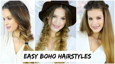 easy hairstyles for school luxy hair 3 easy boho braid hairstyles luxy hair