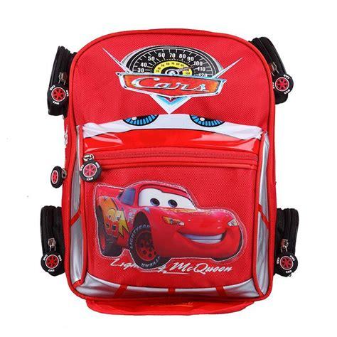 quality 3d car backpack school bag children character