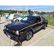 1978 AMC AMX At AMO 2015 Meet In Black With Gold