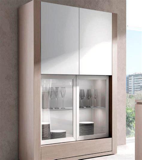 imagenes de vitrinas minimalistas vitrinas de madera para tu comedor muebles nina