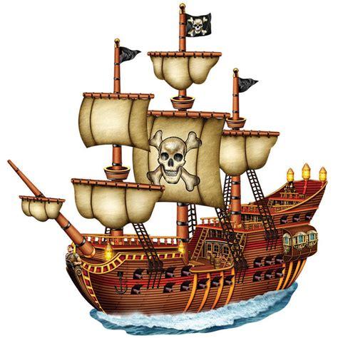 Pirate Ship jointed pirate ship cutout birthdayexpress
