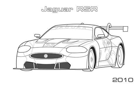 jaguar car coloring pages jaguar rsr coloring page car coloring pages